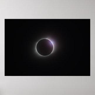 """Poster 36"""" x 24"""" affiche - éclipse totale 2017"""