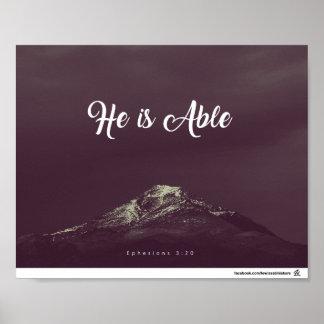 Poster 3h20 d'Ephesians - il peut