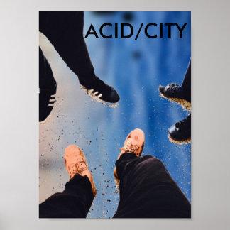 Poster ACID/CITY (affiche) (JES)