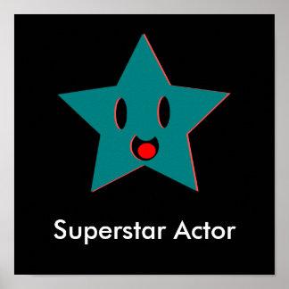 Poster Acteur de superstar