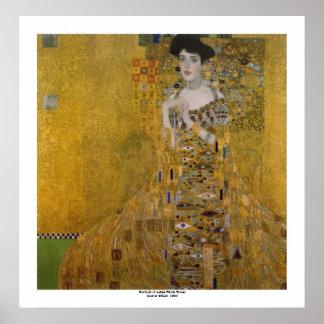 Poster Adele Bloch Bauer par Gustav Klimt