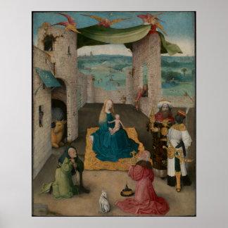 Poster Adoration des Magi