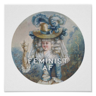 Poster AF féministe