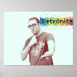 Poster Affiche 10 de bruit de Retr0nite