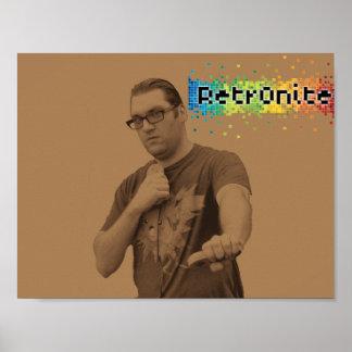 Poster Affiche 11 de bruit de Retr0nite