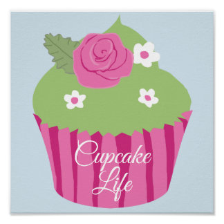 Poster Affiche 11' de la vie de petit gâteau x 11'