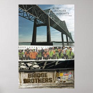 """Poster Affiche 24"""" de frères de pont x 36"""""""