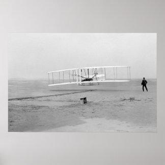 """Poster Affiche 24"""" de premier vol x16 """""""