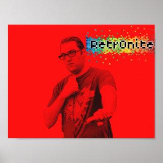 Poster Affiche 2 de bruit de Retr0nite