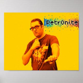 Poster Affiche 3 de bruit de Retr0nite