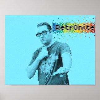 Poster Affiche 7 de bruit de Retr0nite