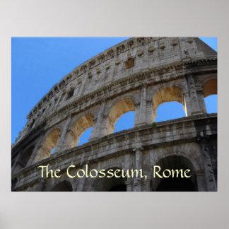 Poster Affiche--Colosseum romain