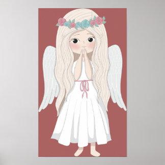 Poster Affiche d'ange