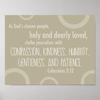 Poster Affiche de 3h12 de Colossians