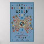 Poster Affiche de bleu de coupe du monde de QUIDDITCH™