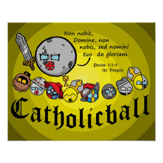Poster Affiche de Catholicball