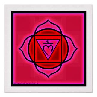 Poster Affiche de Chakra de racine