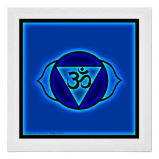 Poster Affiche de Chakra de troisième oeil