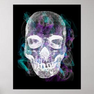 Poster affiche de crâne