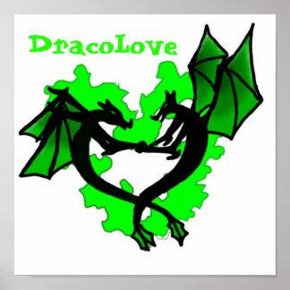 Poster Affiche de Dracolove