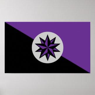 Poster Affiche de drapeau de Severan