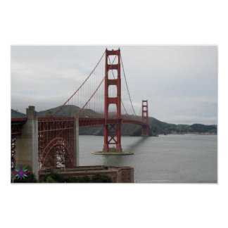 Poster Affiche de Golden Gate
