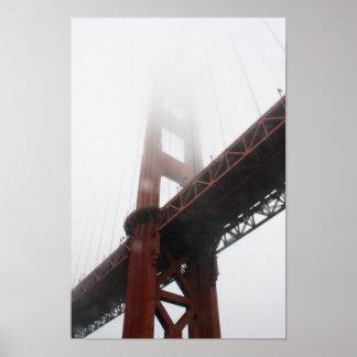 Poster Affiche de golden gate bridge
