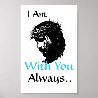 Poster Affiche de Jésus