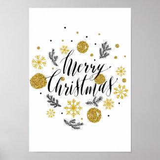 Poster Affiche de Joyeux Noël