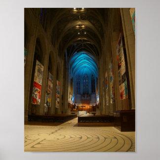 Poster Affiche de la cathédrale #2 de grâce de San