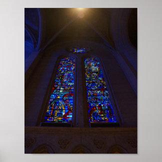 Poster Affiche de la cathédrale #3 de grâce de San