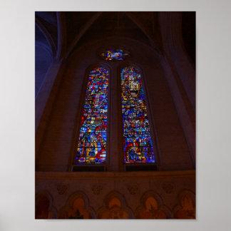 Poster Affiche de la cathédrale #4 de grâce de San