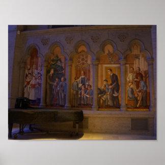 Poster Affiche de la cathédrale #5 de grâce de San