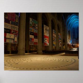 Poster Affiche de la cathédrale #6 de grâce de San