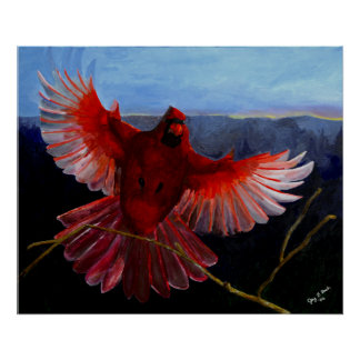 Poster Affiche de la gloire du cardinal