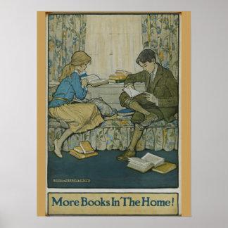 Poster Affiche de la semaine du livre de 1924 enfants