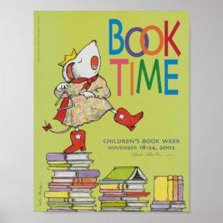 Poster Affiche de la semaine du livre de 2002 enfants