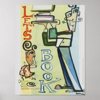 Poster Affiche de la semaine du livre de 2004 enfants