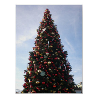 Poster Affiche de l'arbre de Noël #3