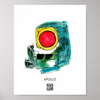 Poster Affiche de l'espace d'APOLLO