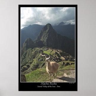 Poster Affiche de Machu Picchu (sept merveilles du monde)