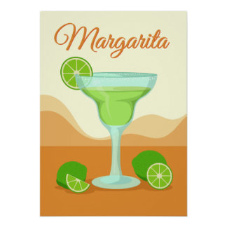 "Poster Affiche de ""margarita"""