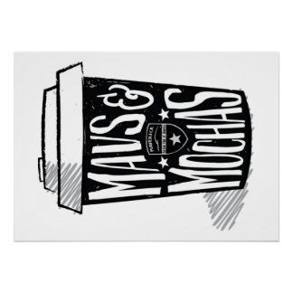 Poster Affiche de Mavs et de mokas