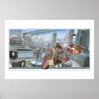 """Poster Affiche de messagerie de Retropolis (30x20"""")"""