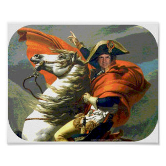 Poster Affiche de Napoleon Bonaparte