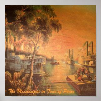 Poster Affiche de paix du Mississippi
