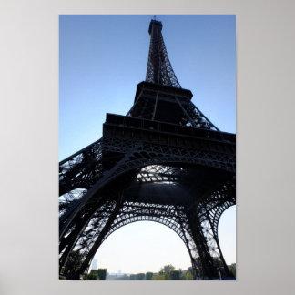 Poster Affiche de Paris France de Tour Eiffel