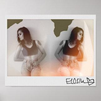 Poster Affiche de photographie d'ELOSIN