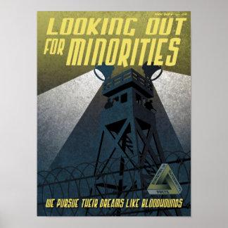 Poster Affiche de propagande d'immigration