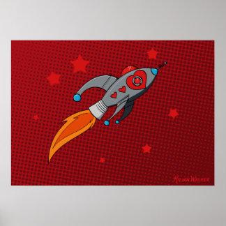 Poster Affiche de Rocket d'amour